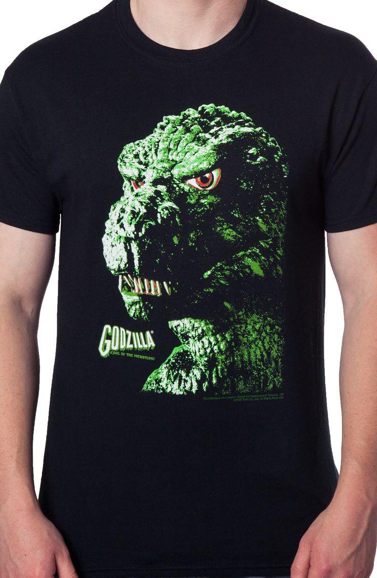c3865e6ec Godzilla T-Shirt: Non 80s Movies: Officially Licensed Godzilla Shirts