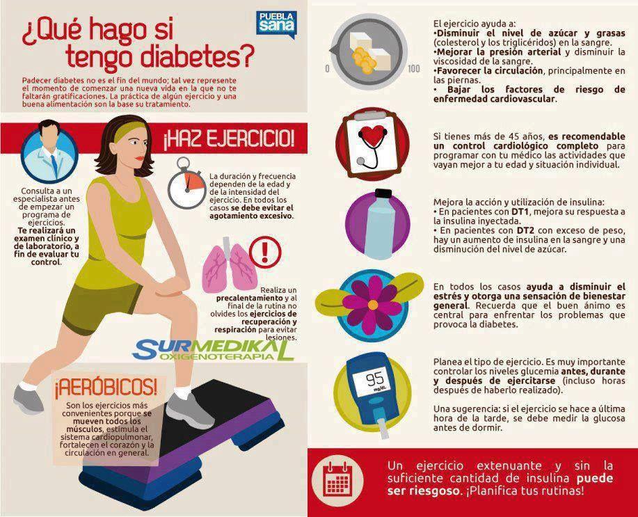 Ejercicios para disminuir la diabetes
