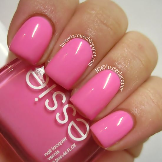 Essie Quot Boom Boom Room Quot Bubble Gum Barbie Pink Love This Color Pink Nail Colors Pink Nails