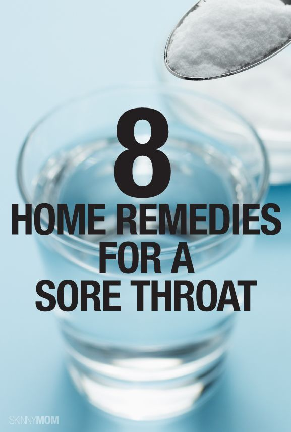 Natural Treatment For Sore Throat