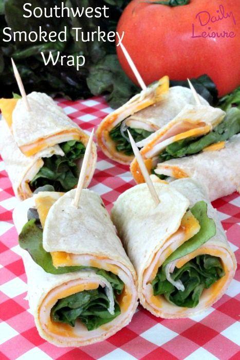 Southwest Smoked Turkey Wrap - Daily Leisure