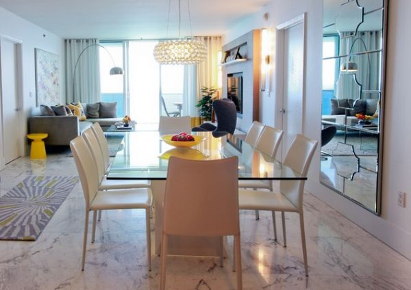 Iconic Arco Floor Lamp Decor Ideas & Inspiration  Arco Floor Lamp Fair Dining Room Floor Lamps Inspiration