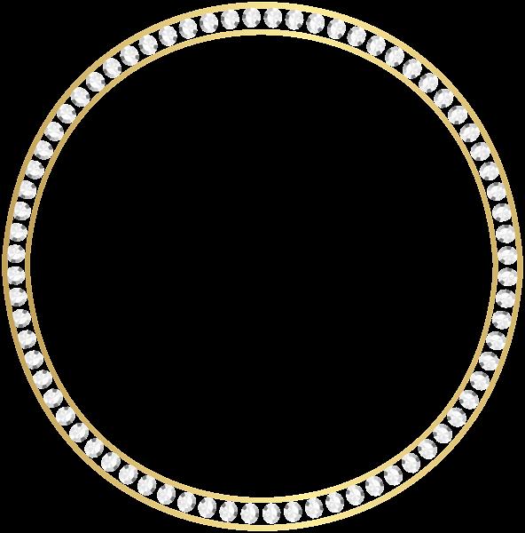 Gold Diamond Border Frame Png Clip Art Clip Art Clip Art Borders Free Clip Art