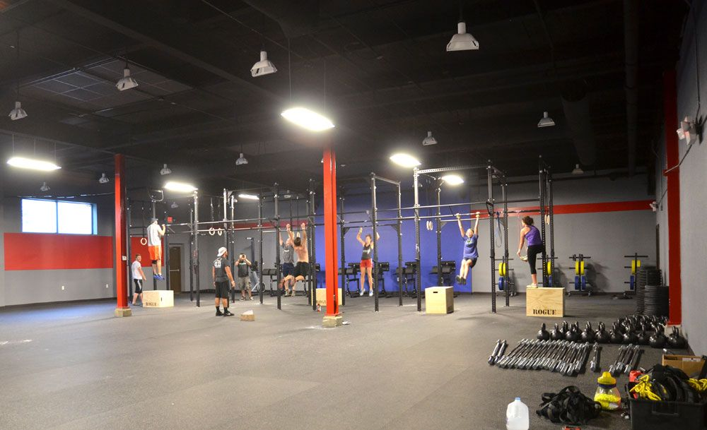Rogue equipped facilities facility outfitting gyms crossfit