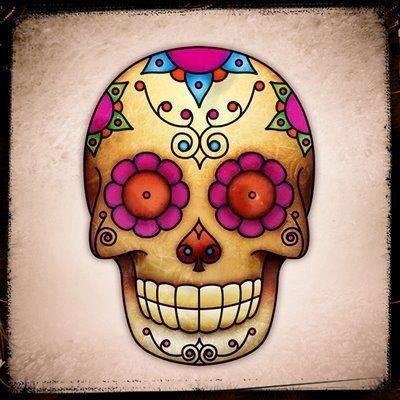 Image Result For Happy Skulls Sugar Skull Tattoos Sugar Skull Art Sugar Skull Artwork