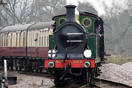 H-class entering Horsted Keynes - Brian Lacey - 14 February