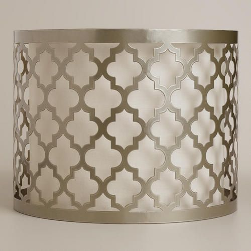 Moroccan Lattice Drum Table Lamp Shade Wall Lamp Shades Lamp Shade Frame Antique Lamp Shades