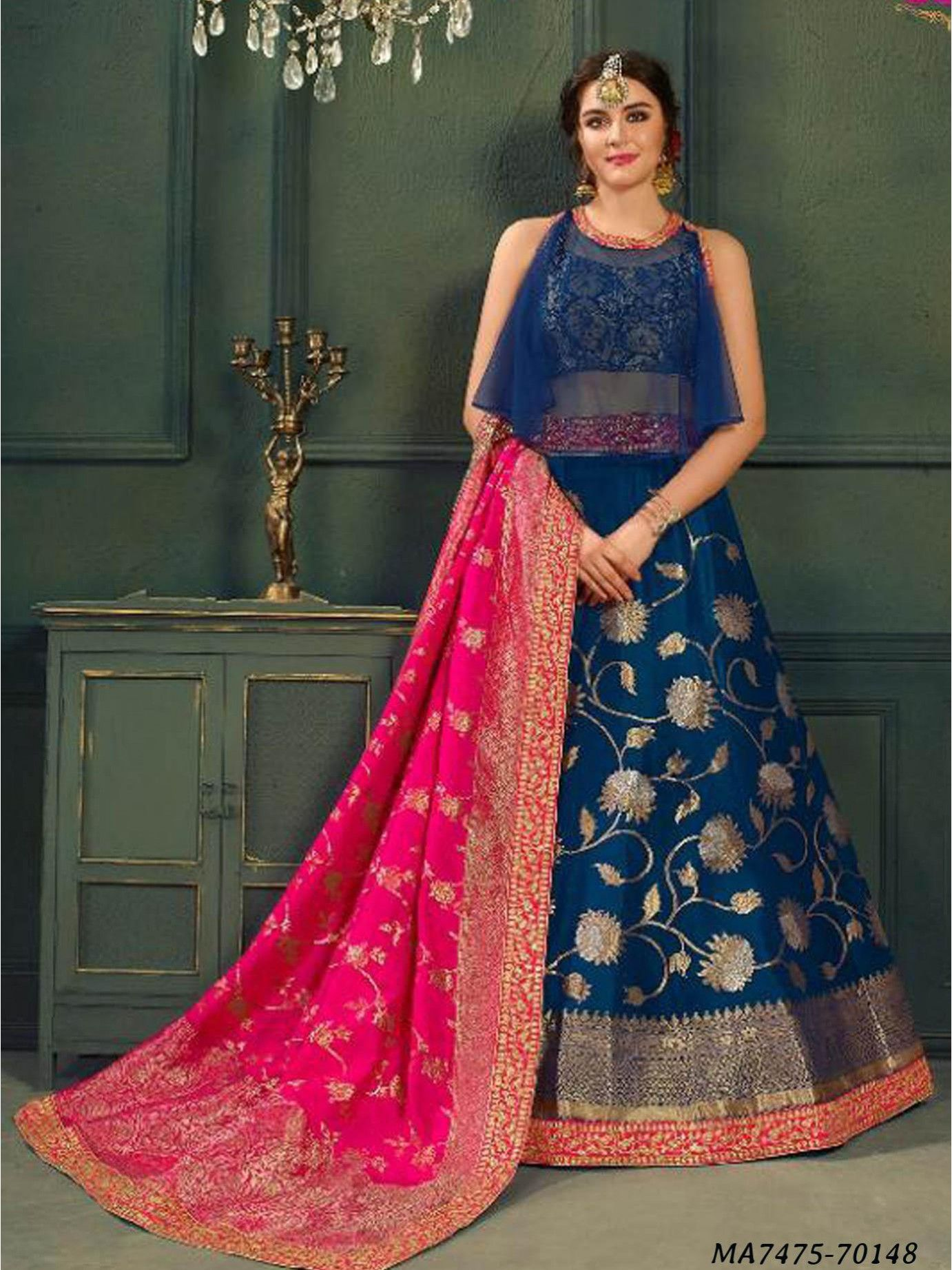 db1071e4626 Shop for  LehengaCholi online sale at attractive prices on GlamourIndianWear