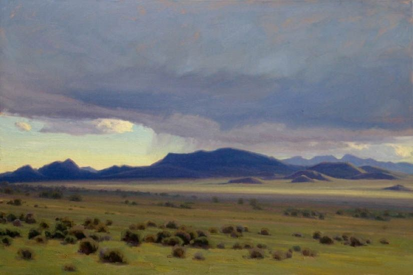Nevada Elements by Jean LeGassick Oil ~ 20 x 30