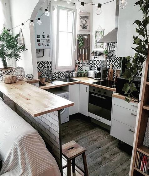 Kleine Küche gestalten und organisieren –