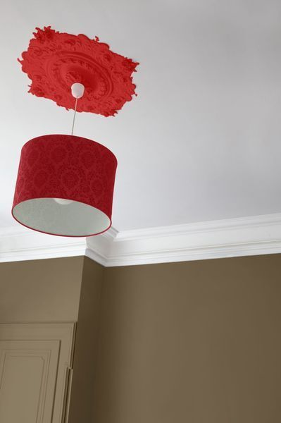 Red ceiling lamp from Cote Maison Lights Pinterest Ceilings