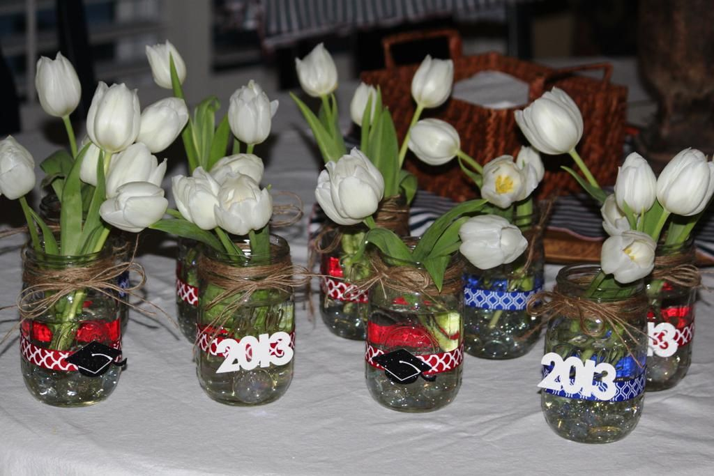 centerpiece ideas for graduation party - Graduation Party Decoration Ideas
