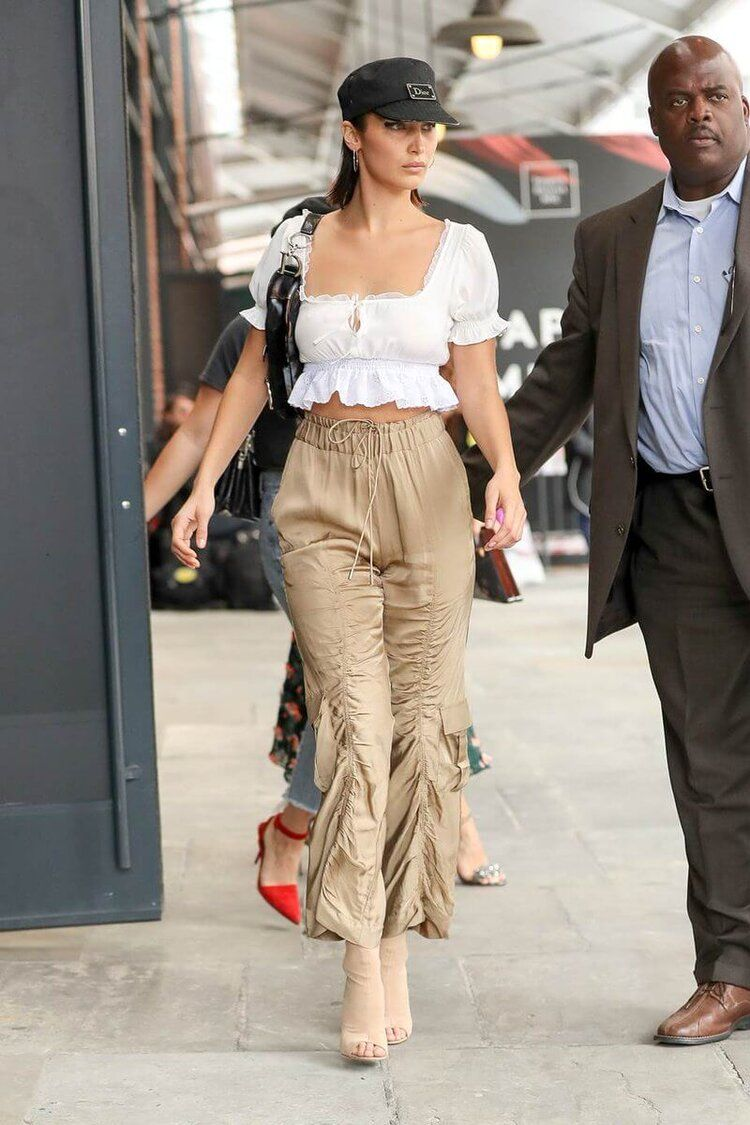 How To Wear Peep Toe Booties in 10 Celeb-Approved Outfits | I AM & CO® #bellahadid