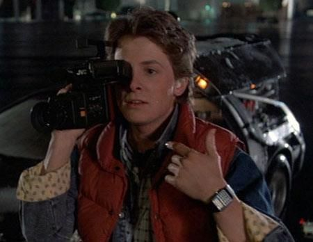 Casio Calculator Watch In Back To The Future Back To The Future