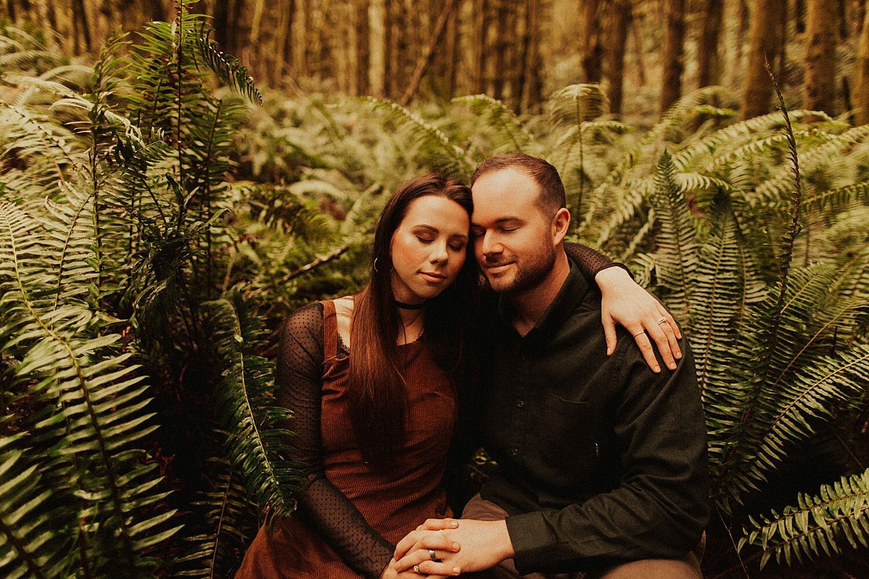 Ecola Beach State Park Anniversary Shoot // Cannon Beach, OR // Kayla & Easton — Oregon Wedding Phot