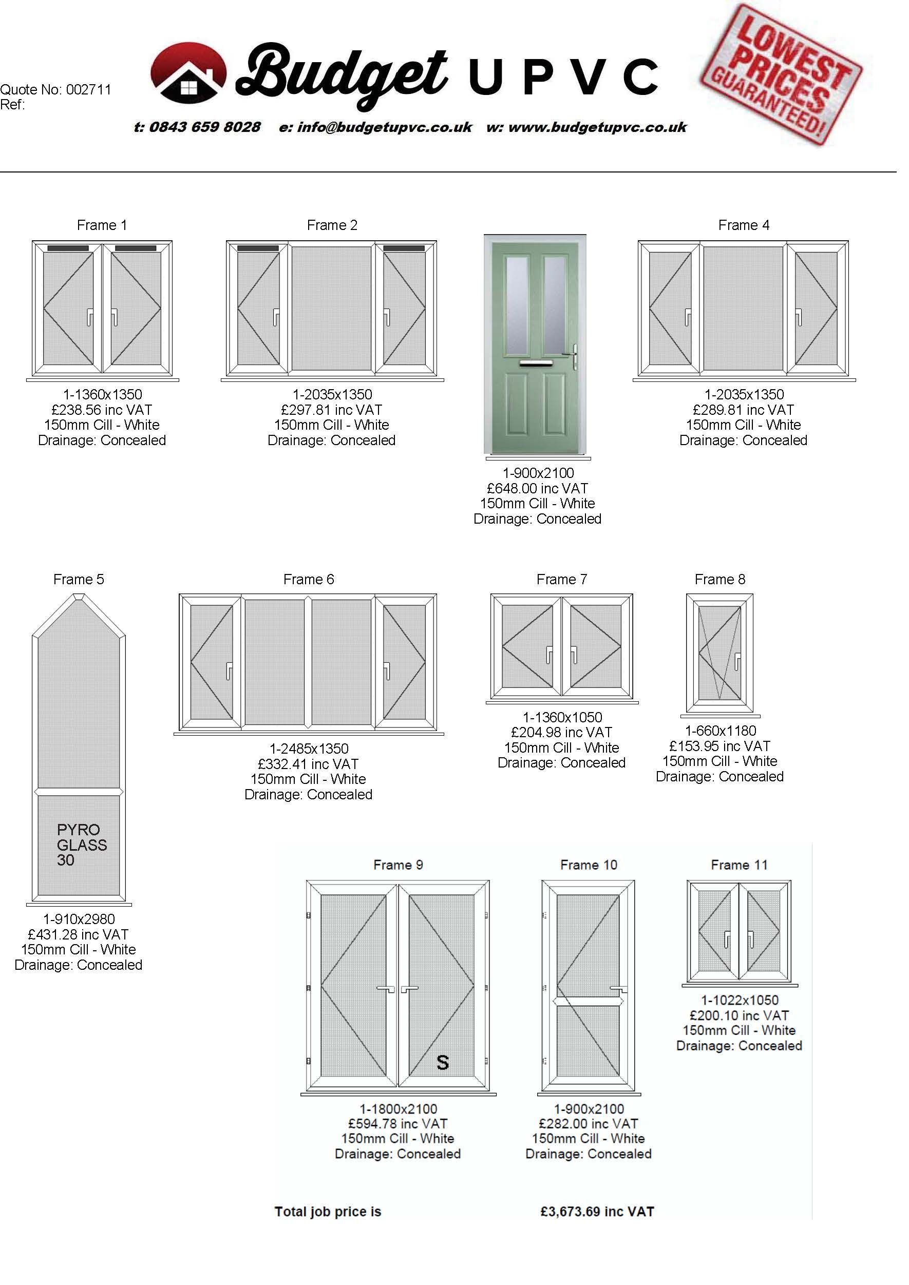 budget upvc are the united kingdoms largest supplier of supply only