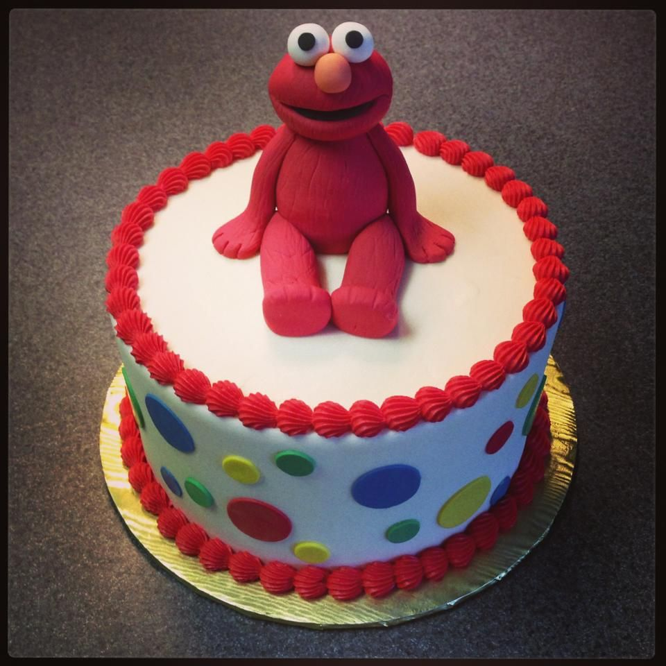 Elmo birthday cake by Sweeten Up Bake Shop Austin Cedar Park