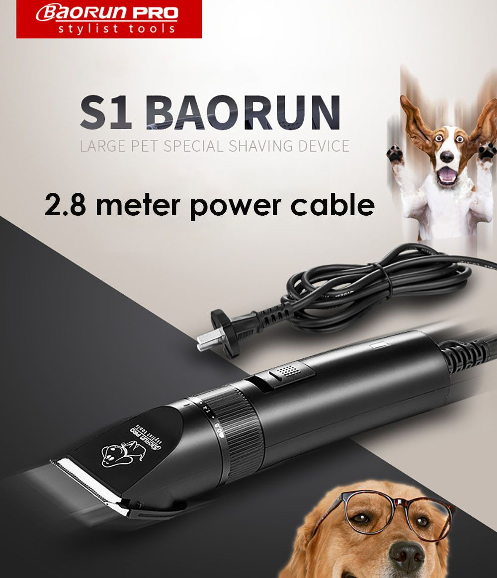 High Power Dogs Grooming Hair Cutter Professional Electric Pet Cat Clipper Grooming Trimmer In 2020 Dog Haircuts Dog Hair Dog Hair Cleaning