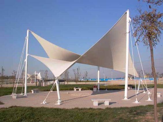 Resultado De Imagem Para Tensile Membranes Arquitetura