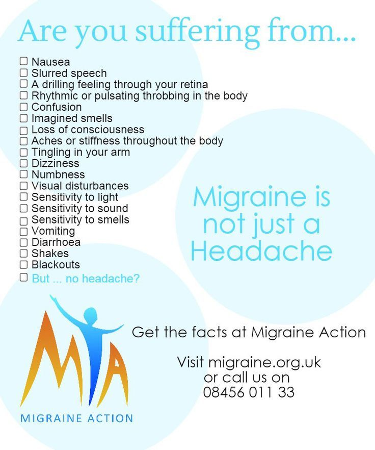 Migraine Is Not Just A Headache!