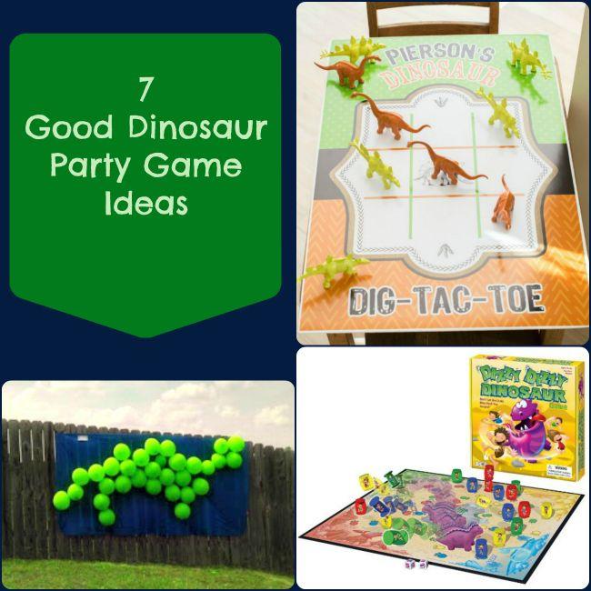 7 Good Dinosaur Party Game Ideas #TheGoodDinosaur #Disney