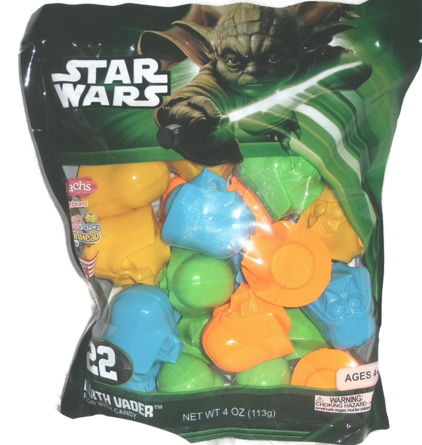 Star Wars Plastic Easter Eggs Filled With Candy Toy