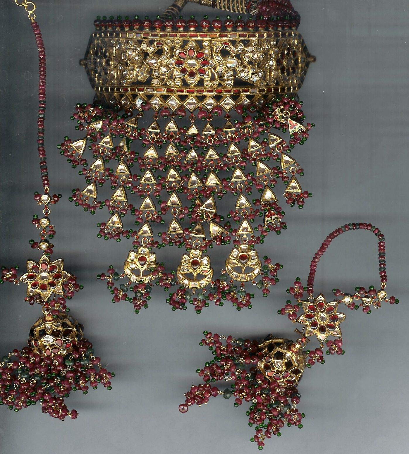 Traditionally worn by all the Rajput women, it signifies the ...