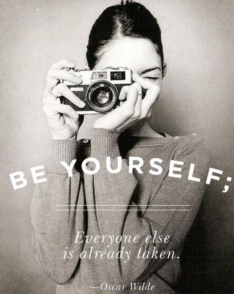 YES. #beyourself #hemingway #quotes