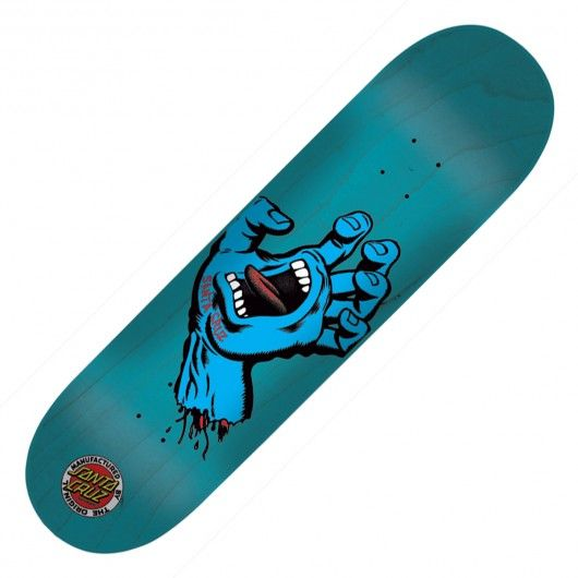 SANTA CRUZ Board Screaming Hand blue 7.6 pouces 70,00 € #santacruz #board #deck #skatedeck #skate #skateboard #skateboarding #streetshop #skateshop @playskateshop