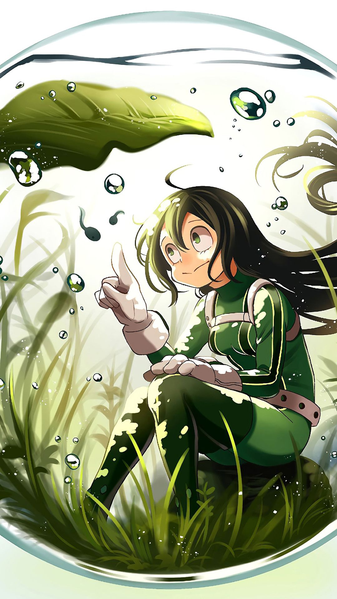 Bnha Tsuyu Asui 4k Phone Desktop Hd Wallpapers 2020 In 2020 My
