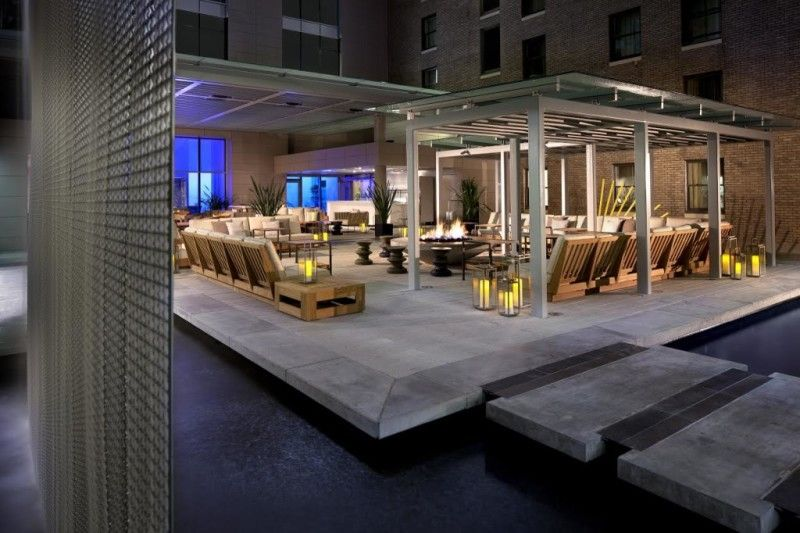 Patio furniture | Rooftop patio, Rosewood hotel ...
