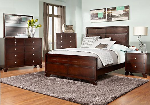 Shop for a Lena Lane 5 Pc Queen Bedroom at Rooms To Go Find Beds