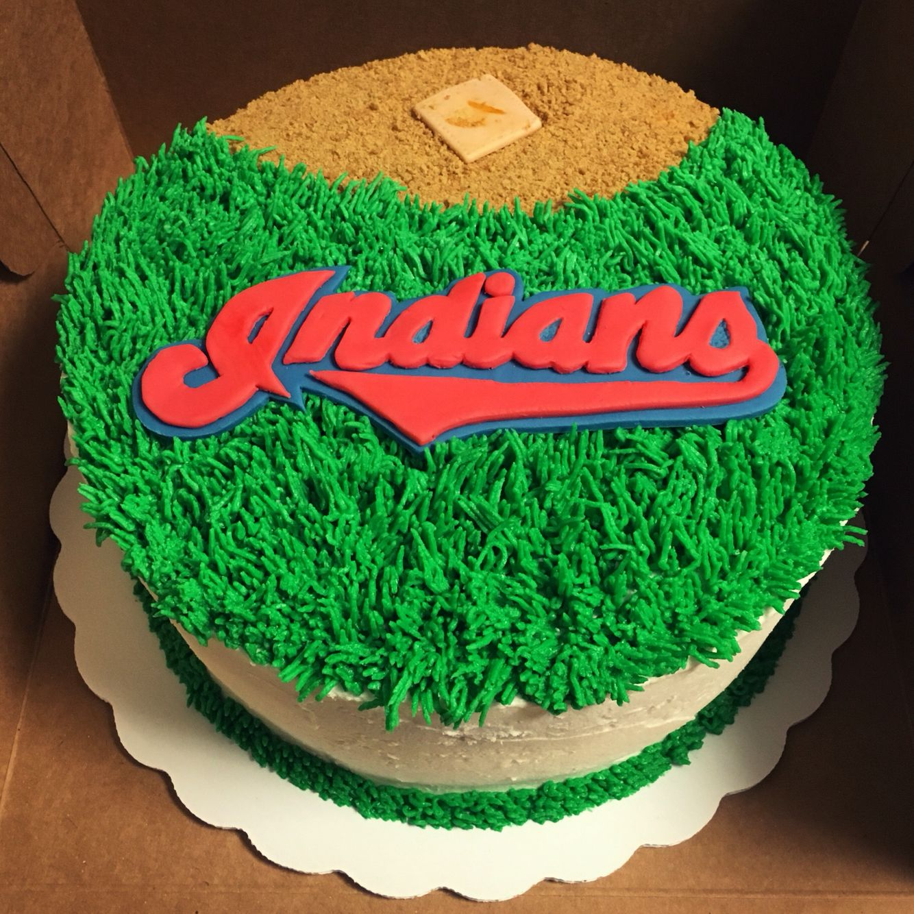 Cleveland Indians Baseball Cake Indian Birthday Parties 30th Cakes