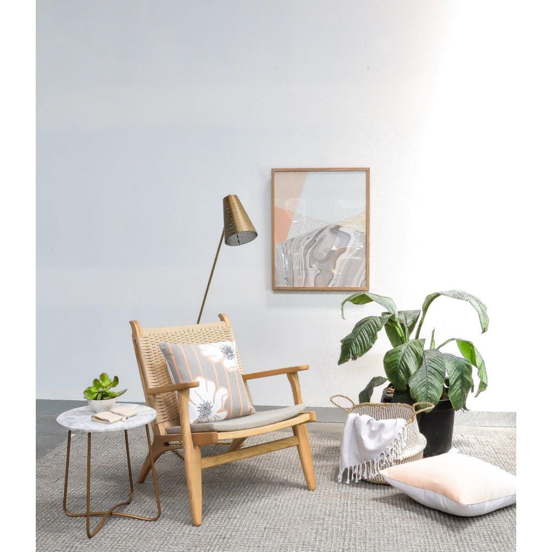 Replica Hans Wegner 370 Easy Lounge Chair w/ Armrests