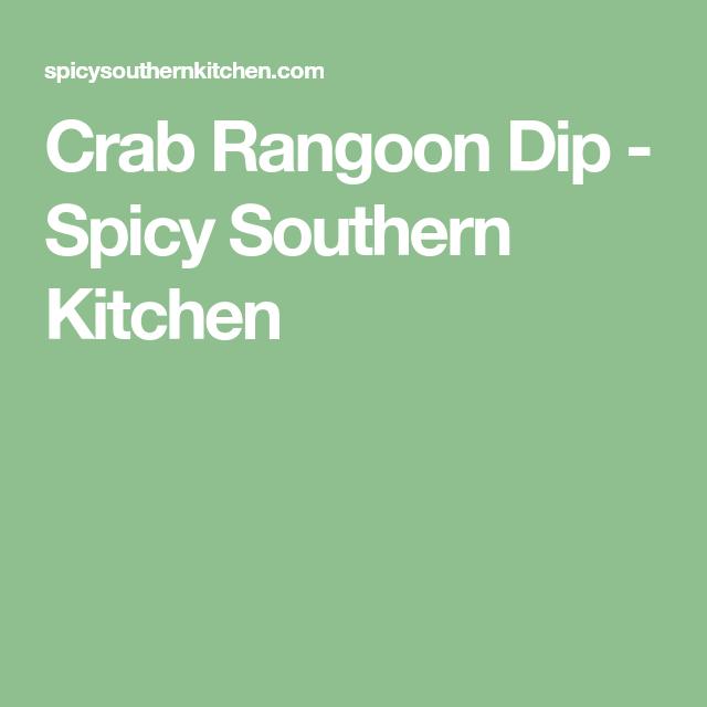 Crab Rangoon Dip #crabrangoondip