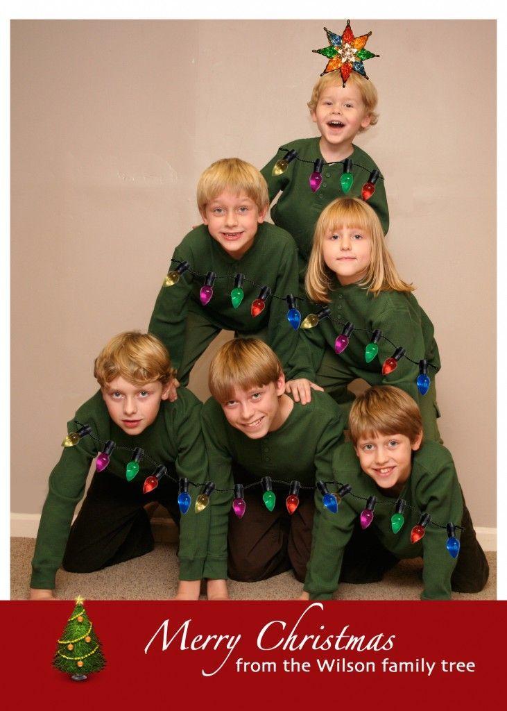 80+ Creative Christmas Card Ideas   Card ideas, Family ...