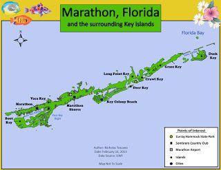 Marathon Florida Map.Marathon Key Florida Map Marathon Florida Places To Visit