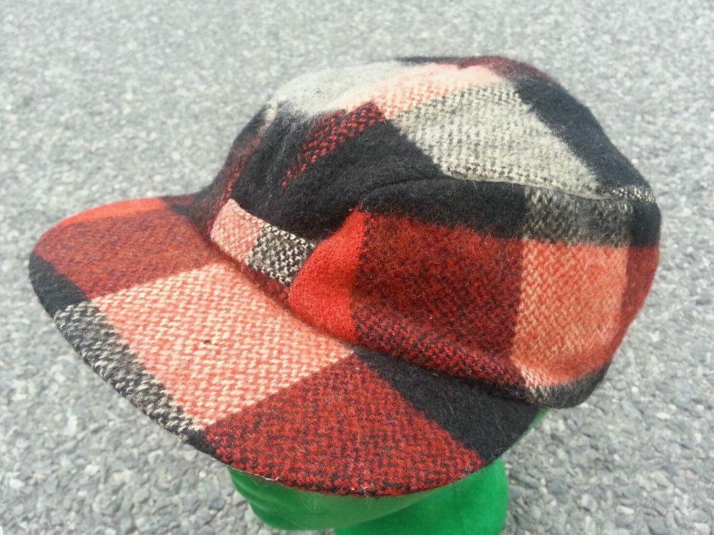 ba1d784c99c Vintage Men s 1940s Hercules Plaid Wool Hat