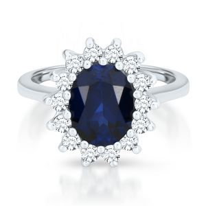 Princess Di knockoff engagement ring Celebrity Engagement Rings