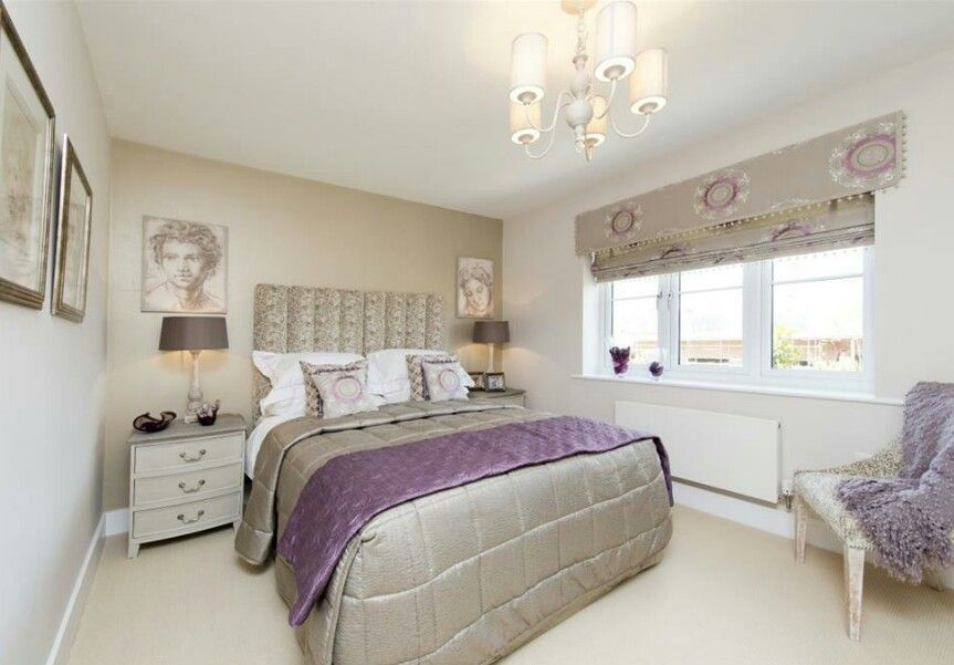 Fabulous show home guest bedroom pewter mink neutral for Neutral colour scheme bedroom