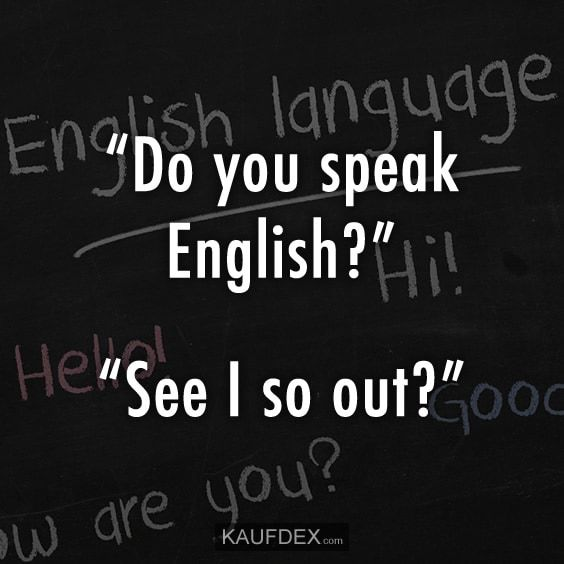 Lustige Englische Sprüche