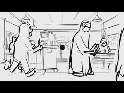 Excellent Animation Storyboard Movie Monsters University  De Jul