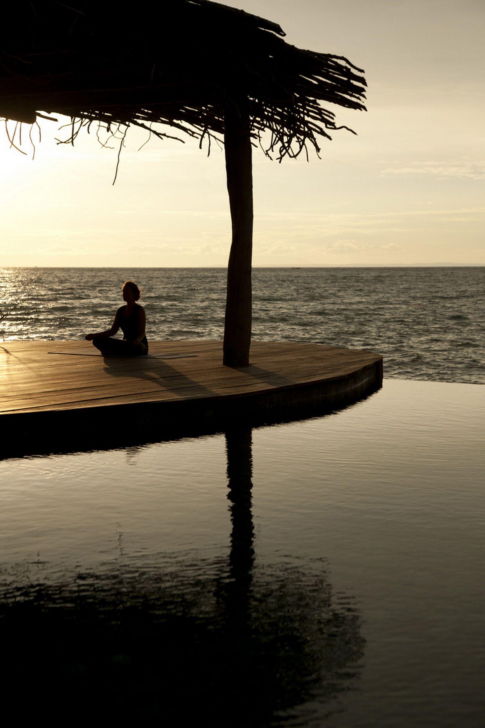 Embrace the silence ....