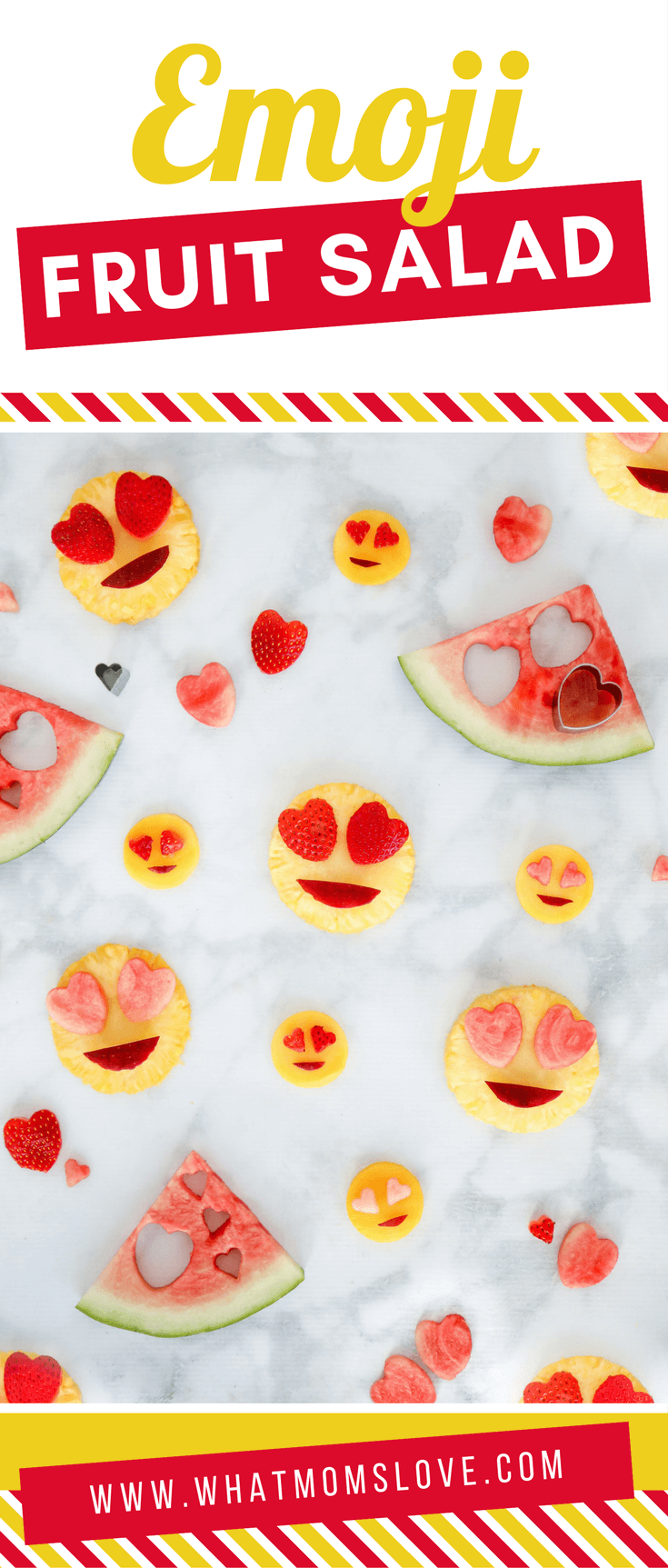 Heart Eye Emoji Fruit Salad – A Healthy Valentine\'s Day (Or Any Day ...