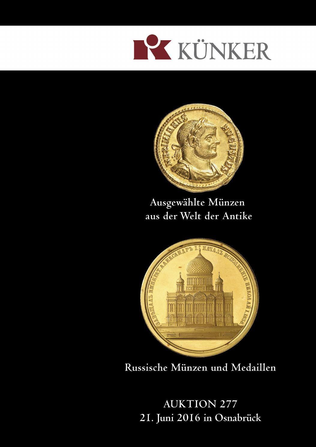 Künker Auktion 277 Ausgewählte Münzen Aus Der Welt Der Antike