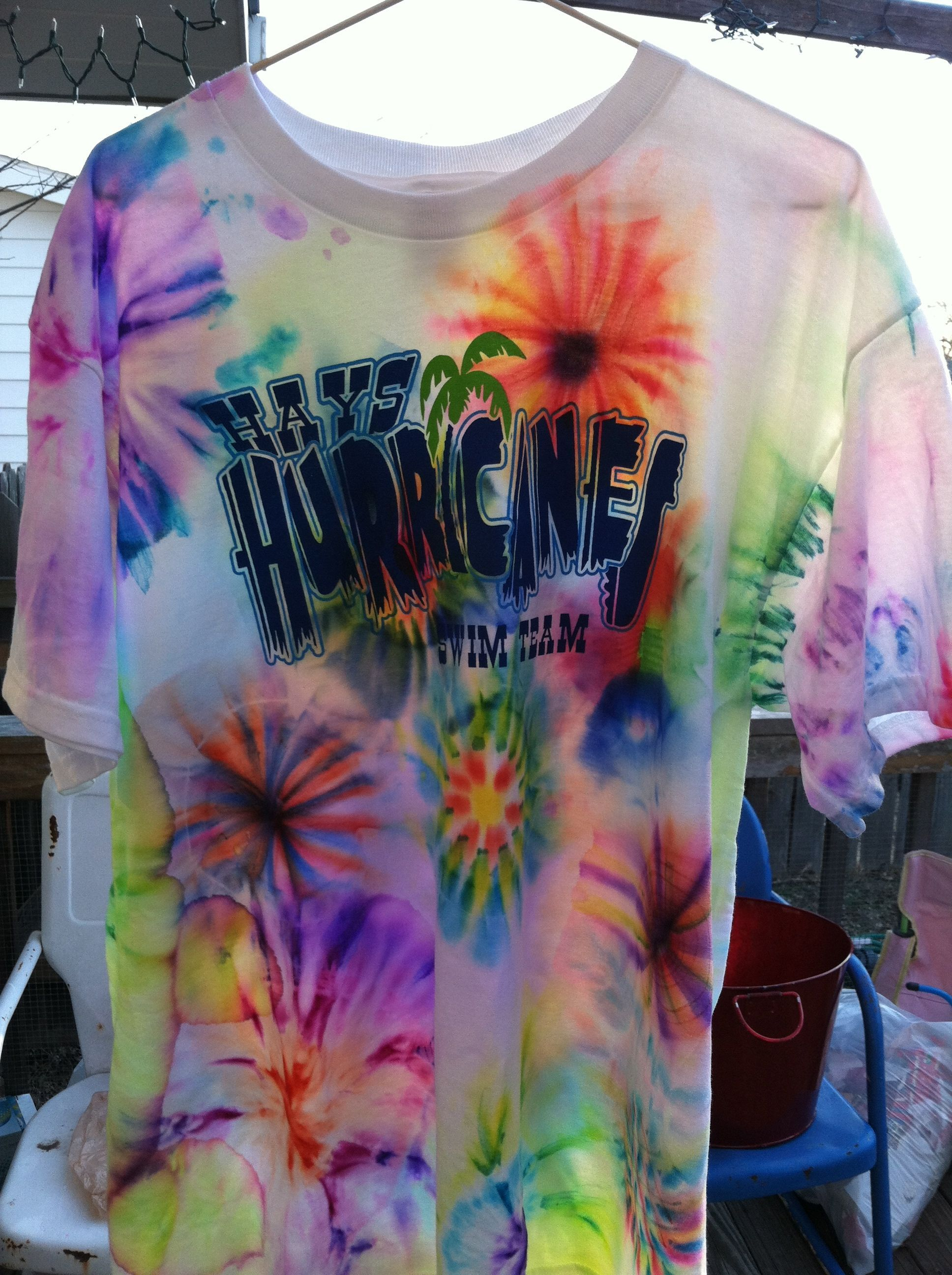 2/365 – Tie Dye T-Shirts with Sharpies