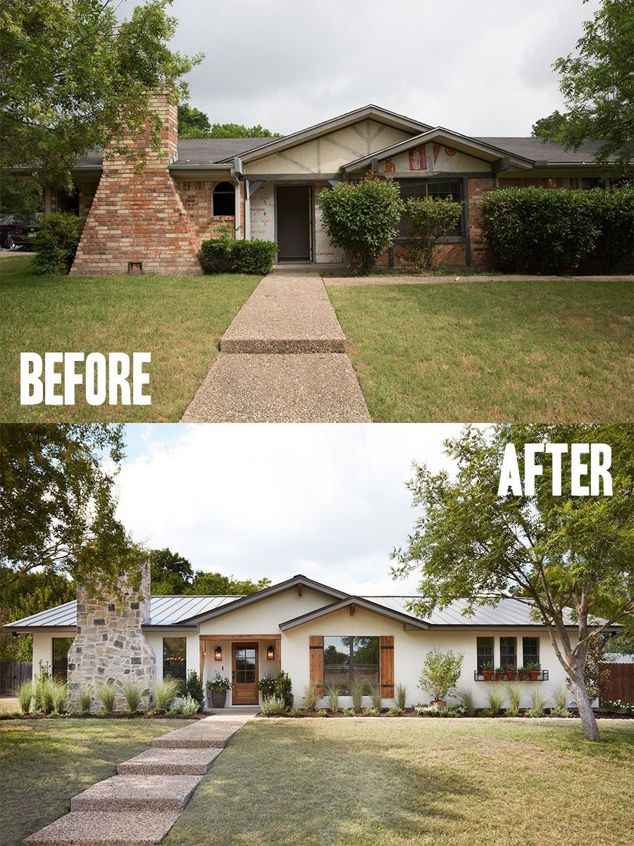 Best House Exterior Renovations By Joanna Gaines; Here are the best before and after…