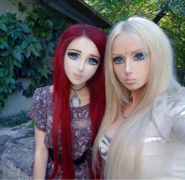 Real Life Anime Girl Ukraine: These Are Real Girls With Crazy Makeup... And Plastic