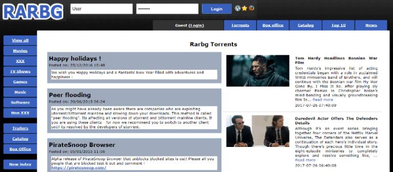Unblock RARBG : RARBG Proxy List & Alternatives Sites