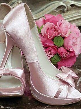 Casamento Sapatos Noiva Rosa Crazy Shoes